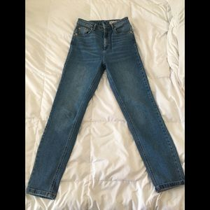 High waisted skinny ASOS jeans